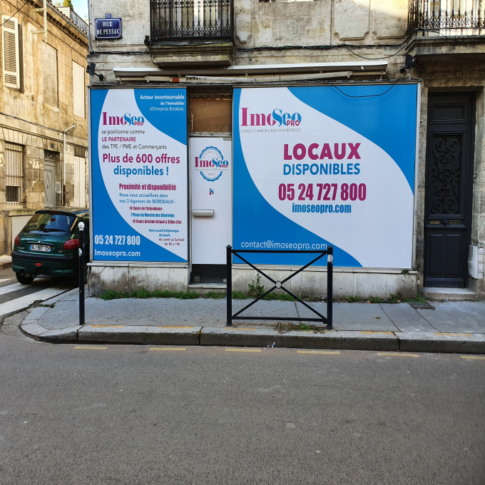 Location Immobilier Professionnel Bureaux Bordeaux (33000)