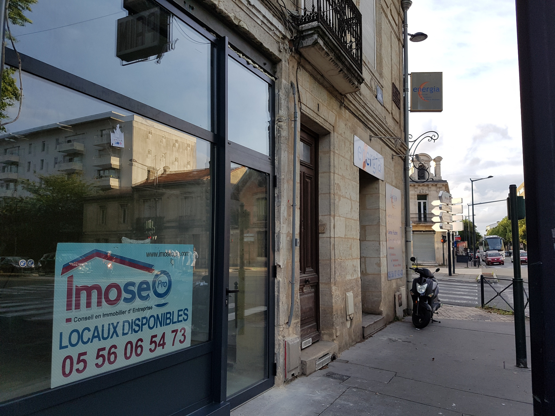 Vente Immobilier Professionnel Local commercial Bordeaux (33800)